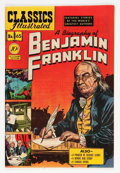 Golden Age (1938-1955):Miscellaneous, Classics Illustrated #65 A Biography of Benjamin Franklin - first edition (Gilberton, 1949) Condition: VF....
