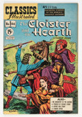 Golden Age (1938-1955):Classics Illustrated, Classics Illustrated #66 The Cloister and the Hearth - first edition (Gilberton, 1949) Condition: FN/VF....