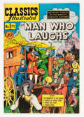 Golden Age (1938-1955):Classics Illustrated, Classics Illustrated #71 The Man Who Laughs - first edition (Gilberton, 1950) Condition: VF....