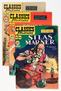 Golden Age (1938-1955):Classics Illustrated, Classics Illustrated First Editions Group (Gilberton, 1948-50)Condition: Average VG/FN.... (Total: 5 Comic Books)