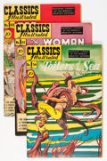Golden Age (1938-1955):Classics Illustrated, Classics Illustrated First Editions Group (Gilberton, 1949-50)Condition: Average FN.... (Total: 4 Comic Books)