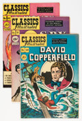 Golden Age (1938-1955):Classics Illustrated, Classics Illustrated First Editions Group (Gilberton, 1948-50)Condition: Average FN/VF.... (Total: 4 Comic Books)