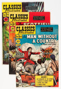 Golden Age (1938-1955):Classics Illustrated, Classics Illustrated First Editions Group (Gilberton, 1949-51) Condition: Average VF-.... (Total: 4 Comic Books)