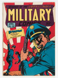 Golden Age (1938-1955):War, Military Comics #28 (Quality, 1944) Condition: Apparent VG/FN....