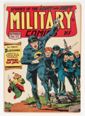 Golden Age (1938-1955):War, Military Comics #33 (Quality, 1944) Condition: FN....