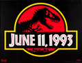 """Movie Posters:Science Fiction, Jurassic Park (Universal, 1993). Subway (46"""" X 60"""").. ..."""