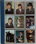 Music Memorabilia:Memorabilia, Beatles 1964 Topps Card Set....