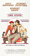 "Movie Posters:Crime, The Sting (Universal, 1973). International Three Sheet (41"" X81"").. ..."