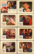 """Movie Posters:Swashbuckler, The Prisoner of Zenda (United Artists, 1937). Lobby Card Set of 8 (11"""" X 14"""") and Uncut Pressbook (22 Pages, 12"""" X 18"""").. ... (Total: 9 Items)"""