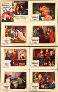 """The Prisoner of Zenda (United Artists, 1937). Lobby Card Set of 8 (11"""" X 14"""") and Uncut Pressbook (22 Pages, 1..."""