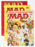 Magazines:Mad, Mad Group Magazine Group (EC, 1957-58).... (Total: 5 Comic Books)