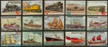 "Non-Sport Cards:Sets, 1955 Topps ""Rails and Sails"" High End Near Set (169/200). ..."