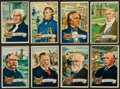 "Non-Sport Cards:Sets, 1952 Bowman ""U.S. Presidents"" High End Near Set (23/36). ..."