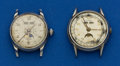 Timepieces:Wristwatch, Buren & Zodiac Calendar With Moon Face Wristwatches For Repair.... (Total: 2 Items)