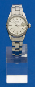 Timepieces:Wristwatch, Rolex Ref. 6919 Lady's Steel Date, circa 1972. ...