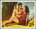 "Movie Posters:Adventure, Tarzan's Secret Treasure (MGM, 1941). Lobby Card (11"" X 14"").. ..."