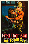 "Movie Posters:Western, The Tough Guy (FBO, 1926). MP Graded One Sheet (27"" X 41"") StyleB.. ..."