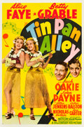 "Movie Posters:Musical, Tin Pan Alley (20th Century Fox, 1940). MP Graded One Sheet (27"" X41"") Style A.. ..."