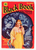 Pulps:Detective, Black Book Detective - November 1934 (Better Publications, 1934)Condition: VG/FN....