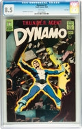Silver Age (1956-1969):Superhero, Dynamo #2 Twin Cities pedigree (Tower, 1966) CGC VF+ 8.5 White pages....