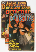 Pulps:Detective, Black Book Detective Group (Better Publications, 1935-51)Condition: Average VG.... (Total: 6 Items)
