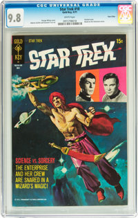 Star Trek #10 Twin Cities pedigree (Gold Key, 1971) CGC NM/MT 9.8 White pages