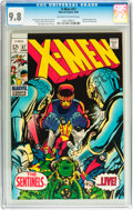 Silver Age (1956-1969):Superhero, X-Men #57 (Marvel, 1969) CGC NM/MT 9.8 Off-white to white pages....
