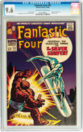Silver Age (1956-1969):Superhero, Fantastic Four #55 (Marvel, 1966) CGC NM+ 9.6 Off-white to whitepages....