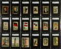 Non-Sport Cards:Lots, 1910-Era Non-Sports Cards SGC Graded Collection (19). ...