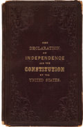 Books:Reference & Bibliography, The Declaration of Independence and the Constitution of the UnitedStates....