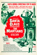"""Movie Posters:Fantasy, Santa Claus Conquers the Martians (Embassy, 1964). Poster (40"""" X 60"""").. ..."""