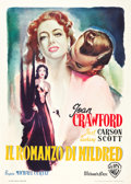 "Movie Posters:Film Noir, Mildred Pierce (Warner Brothers, 1948). Italian 2 - Foglio, FirstPost-War Release (39"" X 55"").. ..."