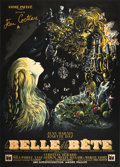 """Movie Posters:Fantasy, Beauty and the Beast (DisCina, 1946). French Grande (47"""" X 63"""").. ..."""