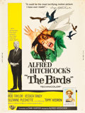 "Movie Posters:Hitchcock, The Birds (Universal, 1963). Poster (30"" X 40"").. ..."