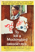 "Movie Posters:Drama, To Kill a Mockingbird (Universal, 1963). Poster (40"" X 60"").. ..."