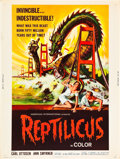 "Movie Posters:Science Fiction, Reptilicus (American International, 1961). Poster (30"" X 40"").. ..."