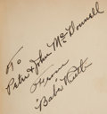 Autographs:Others, 1928 Babe Ruth's Own Book of Baseball, Inscribed &Signed by Ruth....