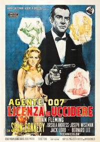 "Dr. No (United Artists, 1962). Italian 4 - Foglio (55"" X 79"")"