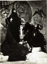 "Ivan the Terrible, Part I (Artkino, 1944). Russian Photos (8) (8.5"" X 12""). ... (Total: 8 Items)"