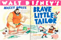 "Movie Posters:Animation, Walt Disney Exhibitor Book (RKO, 1938-39). Spiral Bound Exhibitor Book (9"" X 12"", 22 Pages).. ..."