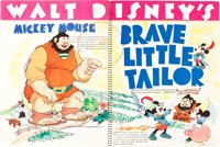 "Walt Disney Exhibitor Book (RKO, 1938-39). Spiral Bound Exhibitor Book (9"" X 12"", 22 Pages)"