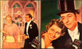 "Movie Posters:Musical, Top Hat (RKO, 1935). Jumbo Lobby Cards (3) (14"" X 17"").. ...(Total: 3 Items)"
