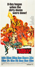 "Movie Posters:War, The Dirty Dozen (MGM, 1967). Three Sheet (41"" X 81"").. ..."
