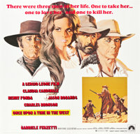 """Once Upon a Time in the West (Paramount, 1969). Six Sheet (81"""" X 81"""")"""
