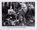 """Autographs:Celebrities, Douglas Fairbanks, Jr. and Ruth Warrick Signed Publicity PhotographFrom the Film """"The Corsican Brothers"""". 10"""" x 8"""". Black a..."""