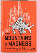 Books:Science Fiction & Fantasy, H. P. Lovecraft. At the Mountains of Madness and Other Novels. Sauk City: Arkham House Publishers, 1964. Second ...
