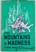 Books:Science Fiction & Fantasy, H. P. Lovecraft. At the Mountains of Madness and Other Novels. Sauk City: Arkham House Publishers, 1964. First p...