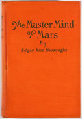 Books:Science Fiction & Fantasy, Edgar Rice Burroughs. The Master Mind of Mars. Chicago: A.C. McClurg & Co., 1928. First edition. Octavo. 312 pa...