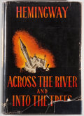 Books:Literature 1900-up, Ernest Hemingway. Across the River and Into the Trees. NewYork: Charles Scribner's Sons, 1950. First edition. O...
