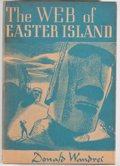 Books:Science Fiction & Fantasy, Donald Wandrei. The Web of Easter Island. Sauk City: Arkham House, 1948. First edition of 3000 copies printed. O...